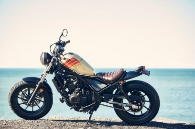 Aviator Nation + 2017 Honda Rebel motorcycle