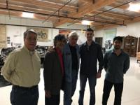 vampire tools crew visits leno garage